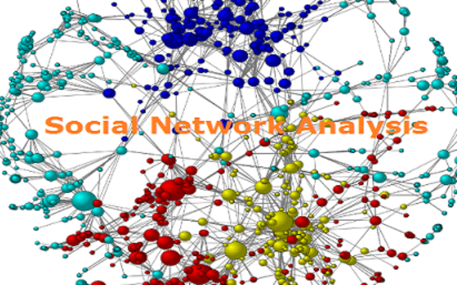 Social network analysis asian community