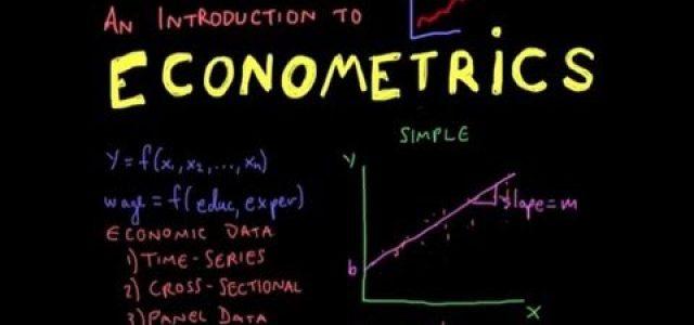 Featured Image for Econometrics