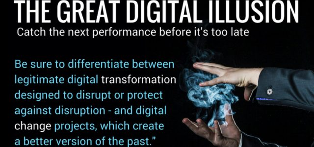 Search Result Image for 'The Great Digital Illusion – making the wake-up call'