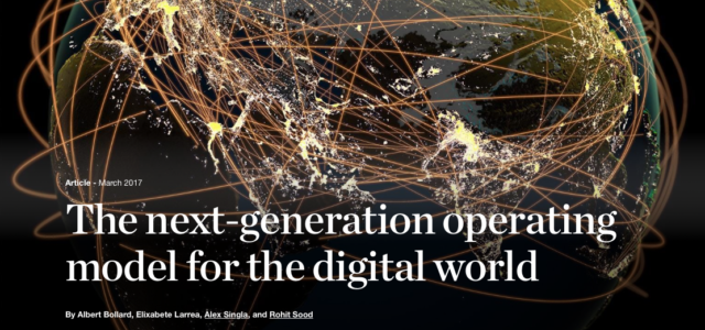 Featured Image for McKinsey: The next-generation operating model for the digital world