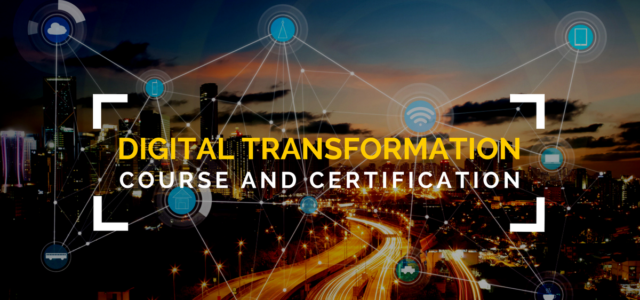 Online Digital Transformation Course