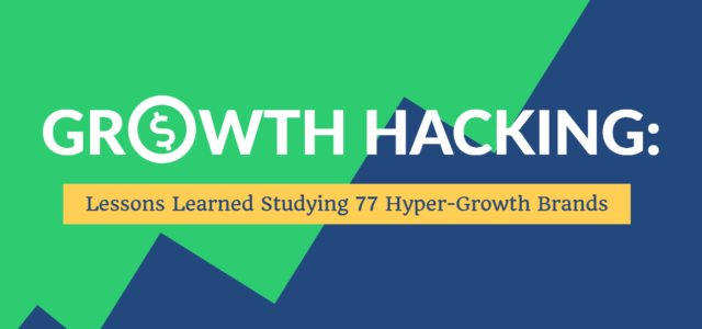 Search Result Image for 'Growth Hacking: Strategies Learned Studying 77 Hyper-Growth Brands'