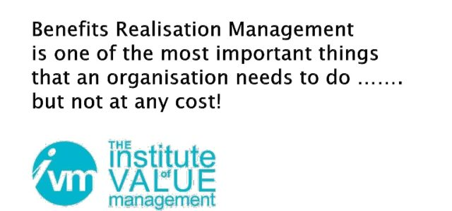 Featured Image for Benefits realisation management is one of the most important things t…