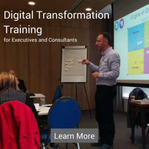 Digital Transformation Training Courses for Executives and Consultants