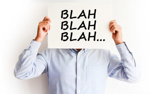 Salespeople Marketing, We've Stopped Listening