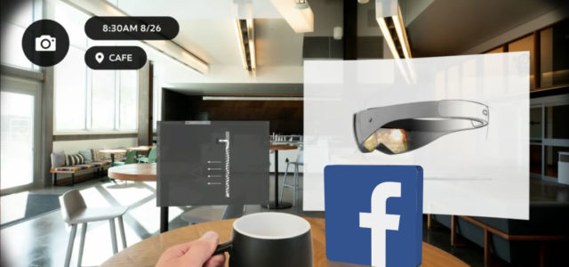 Featured Image for Facebook confirms it's building augmented reality glasses