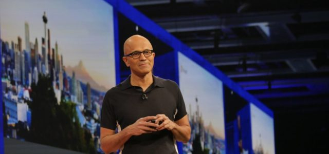Featured Image for Microsoft CEO Satya Nadella Talks AI Ethics, Drones, and Privacy