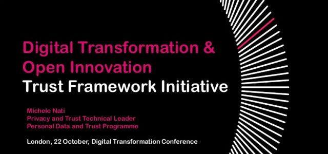 Featured Image for UNICOM Conference on Digital Transformation – The Trust Framework Ini…