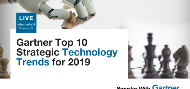 Featured Image for Gartner Top 10 Strategic Technology Trends for 2019
