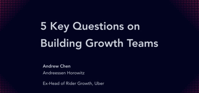 Search Result Image for 'How to build a growth team – lessons from Uber, Hubspot, and others (50 slides)'