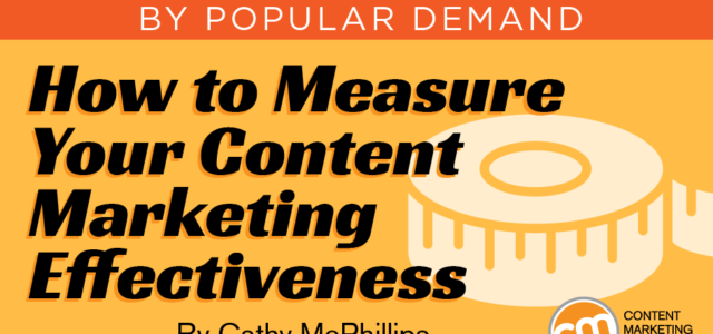 Featured Image for How to Measure Your Content Marketing Effectiveness