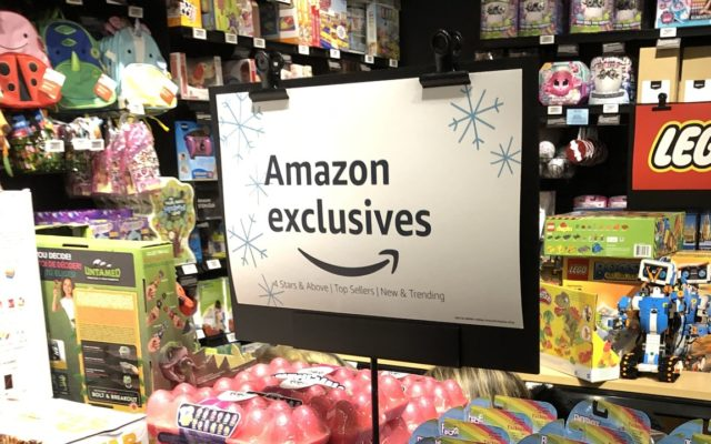 A propitious four-star Amazon clicks-to-bricks experiment
