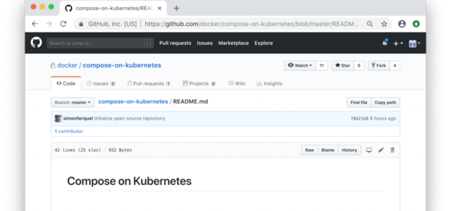 Featured Image for Simplifying Kubernetes with Docker Compose and Friends – Docker Blog