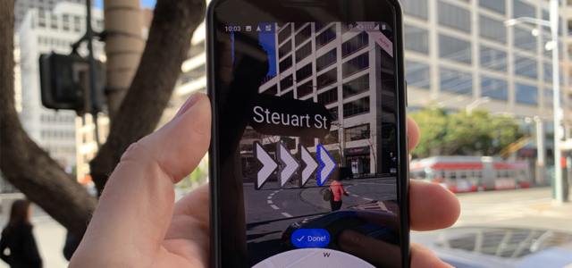 Featured Image for Hands-on with an Alpha build of Google Maps' Augmented Reality mode