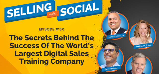 Featured Image for The Secrets Behind The Success Of The World's Largest Digital Sales Training Company, Episode #100 | Vengreso