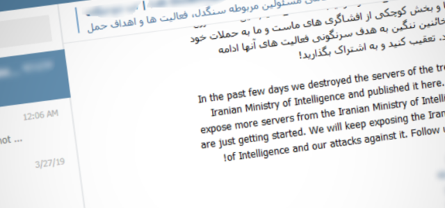 Featured Image for Source code of Iranian cyber-espionage tools leaked on Telegram | ZDNet