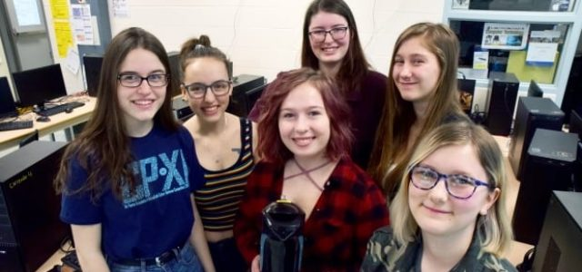 Featured Image for Meet the Terabytches: Fergus students prep for cyber security competition