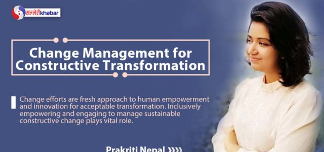Featured Image for Change Management for Constructive Transformation