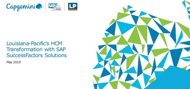 Featured Image for Louisiana-Pacific's HCM Transformation with SAP SuccessFactors Soluti…