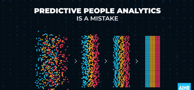 Featured Image for Why Predictive People Analytics is a Mistake | AIHR Analytics