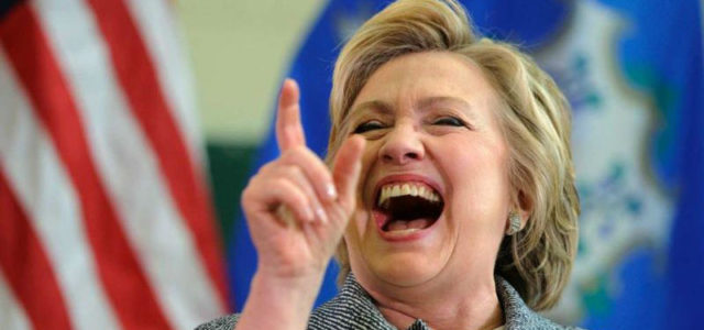 Featured Image for IRONY ALERT: Hillary Gets Chosen To Give Keynote Speech At Cyber Security Summit