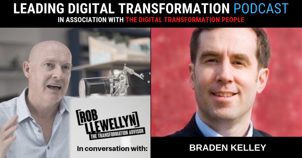 Braden Kelley Leading Digital Transformation Podcast