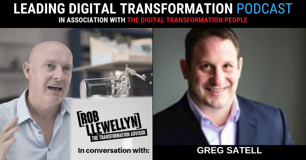 Greg Satell Leading Digital Transformation Podcast