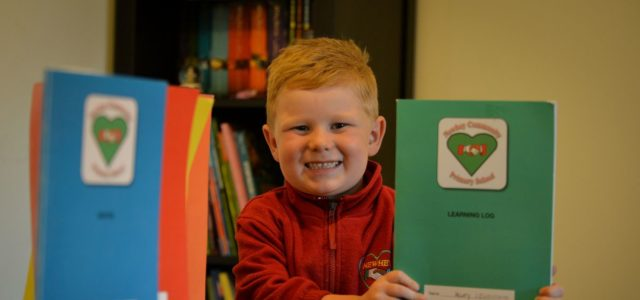 Featured Image for Harry can't have his surname on his school books – because of GDPR