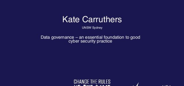 Featured Image for Data governance – an essential foundation to good cyber security prac…