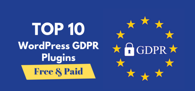 Featured Image for Best 10 GDPR Privacy Policy & Cookie Consent WordPress Plugins – 2019