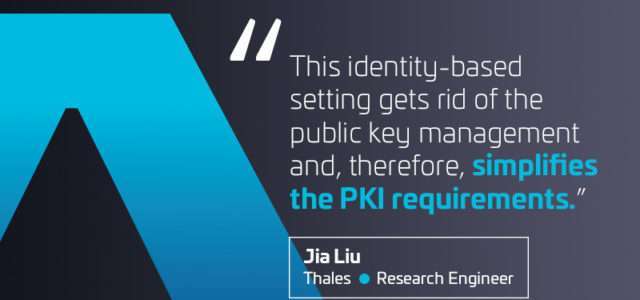 Featured Image for Identity-based Cryptography – Data Security Blog | Thales eSecurity