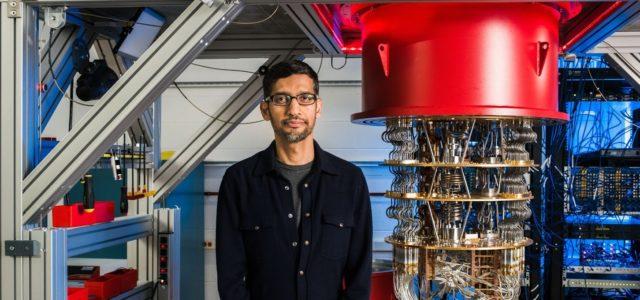 Featured Image for Google CEO Sundar Pichai on achieving quantum supremacy