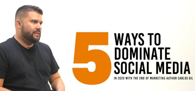 Featured Image for 5 Ways to Dominate Social Media Marketing in 2020
