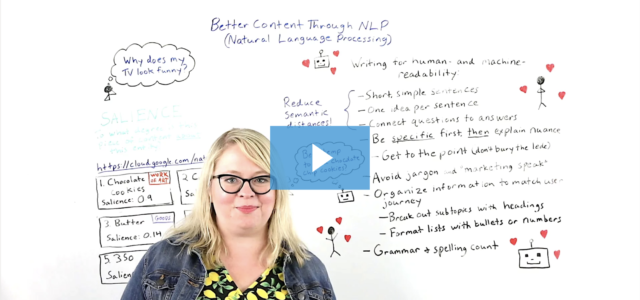 Featured Image for Better Content Through NLP (Natural Language Processing) – Whiteboard Friday
