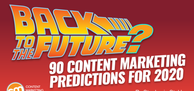 Featured Image for Back to the Future? 90 Content Marketing Predictions for 2020