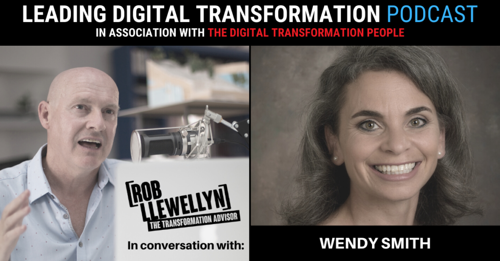 wendy smith and the digital transformation people podcast