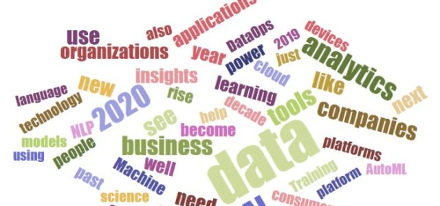 Featured Image for Industry AI, Analytics, Machine Learning, Data Science Predictions for 2020