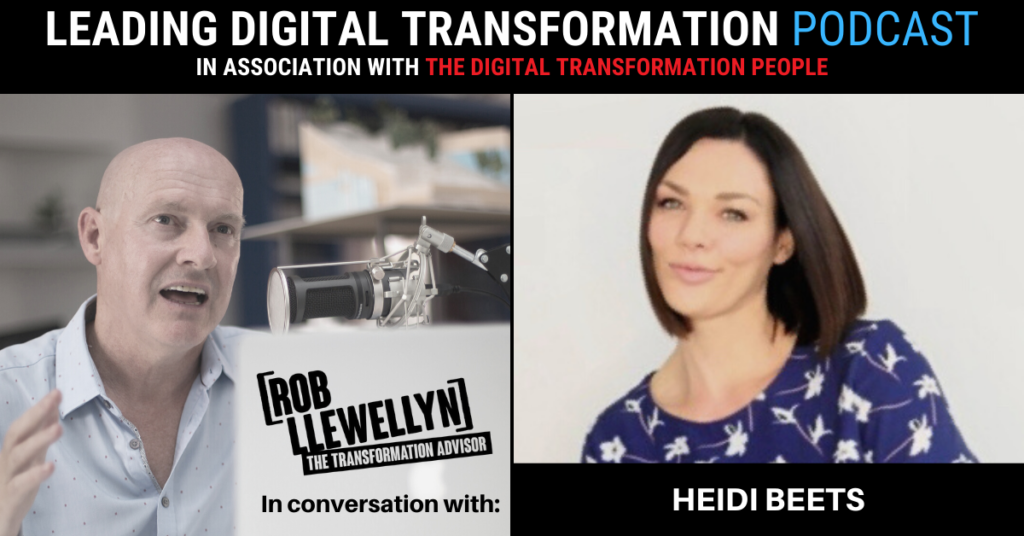 Heidi Beets Digital Transformation people podcast