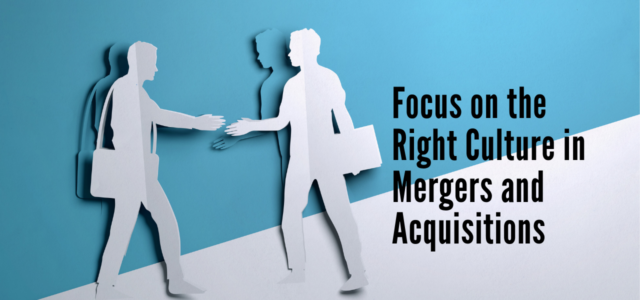 Featured Image for Focus on the right culture in Mergers and Acquisitions