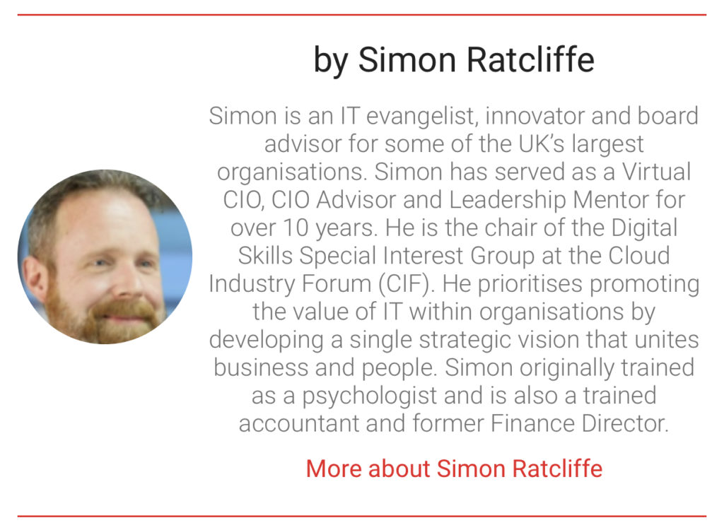 Simon Ratcliffe The Digital transformation People