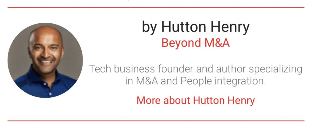 Hutton Henry author with The Digital Transformation People Bumper