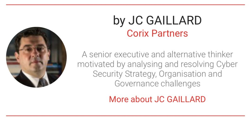 JC Gaillard author with The Digital Transformation