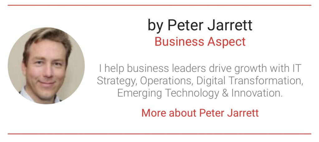 Peter Jarrett author with The Digital Transformation People- bumper
