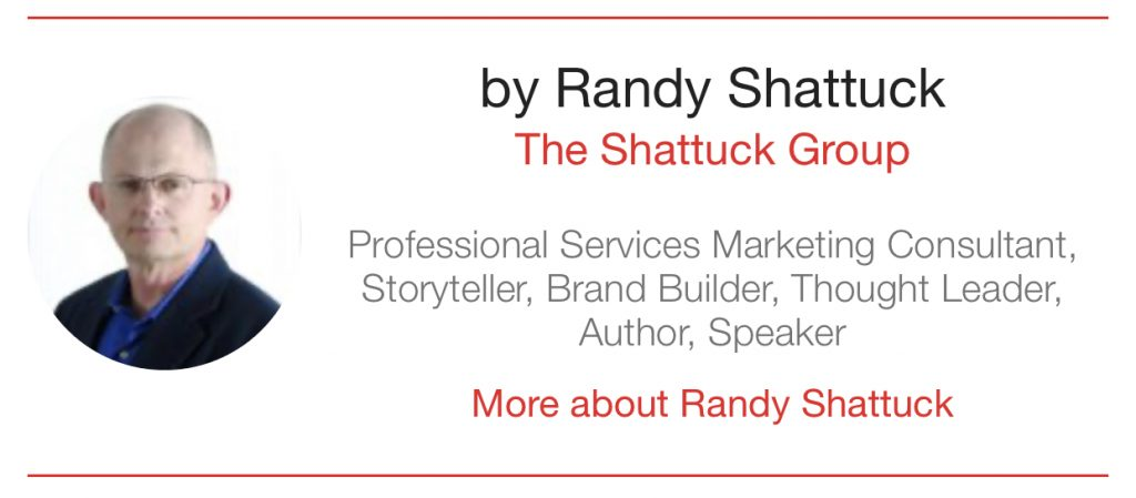 author Randy Shattuck the Digital Transformation People Bumper